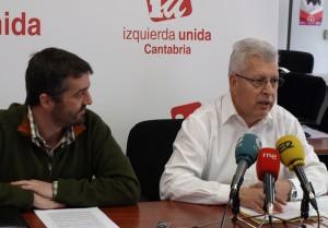 Jorge Crespo y Manuel Fuentes durante la rueda de prensa.