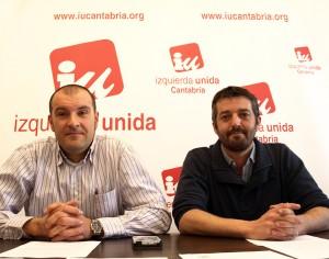 Raul Liaño y Jorge Crespo durante la Rueda de Prensa