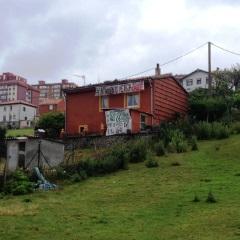 Vista de la casa de Amparo