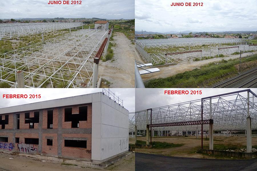 Situación del solar en Camarreal - Santander