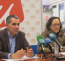 Rueda de prensa de Miguel Saro y Mercedes Boix