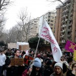 foto de la manifestación en Santander
