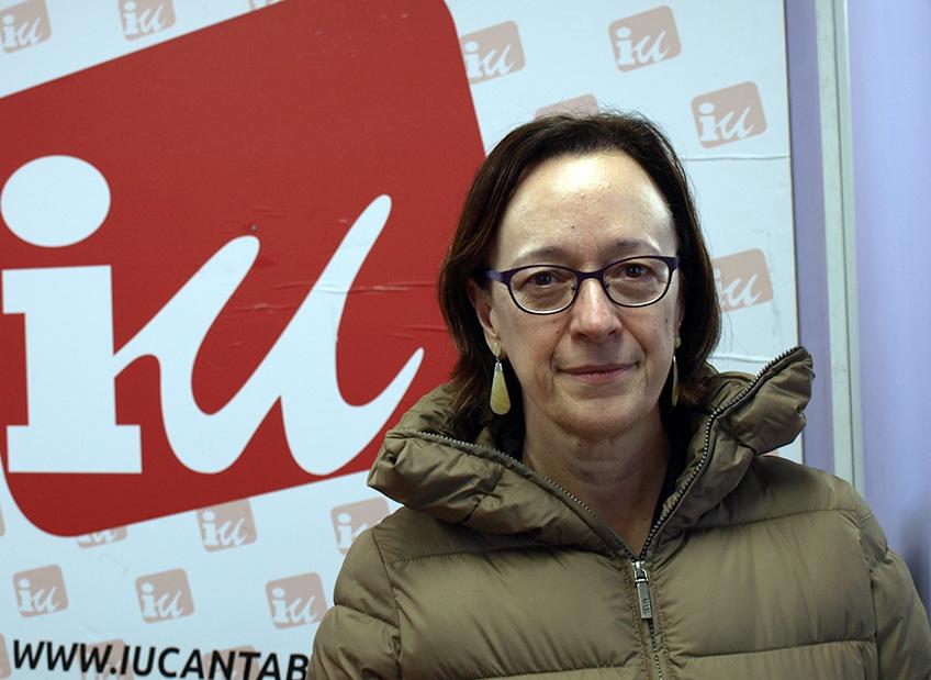 Foto de Mercedes Boix candidata de IU Cantabria