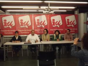 Rueda de prensa de presentación de canditatura Torrelavega