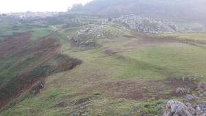 Imagen del entorno del Castro Castillo de Prellezo