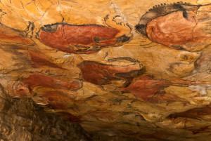 Sala de Polícromos de la Cueva de Altamira. Imagen: http://museodealtamira.mcu.es/