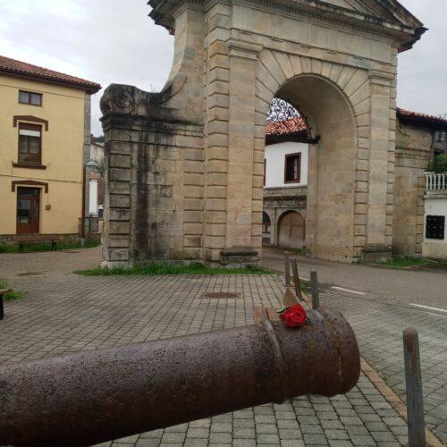 Cañón de la fábrica de artillería (La Cavada)